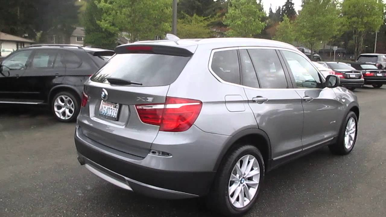2012 BMW X3 Space Gray Metallic