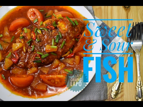 Sweet & Sour Fish | Ikan Masam Manis