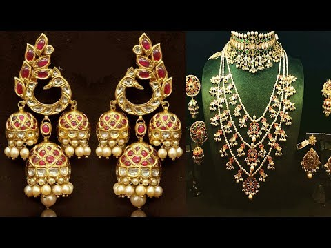 Exclusive Polki Jewellery Design 2018