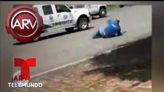 Un hombre descarga la furia con su esposa acuchillando a empleados | Al Rojo Vivo | Telemundo