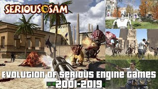 Evolution of Serious Engine Games 2001-2019