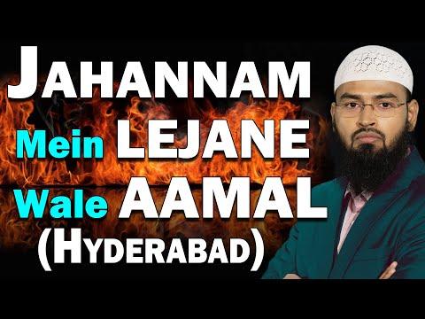 Jahannam Mein Lejane Wale Aamaal By Adv. Faiz Syed (Hyderabad)
