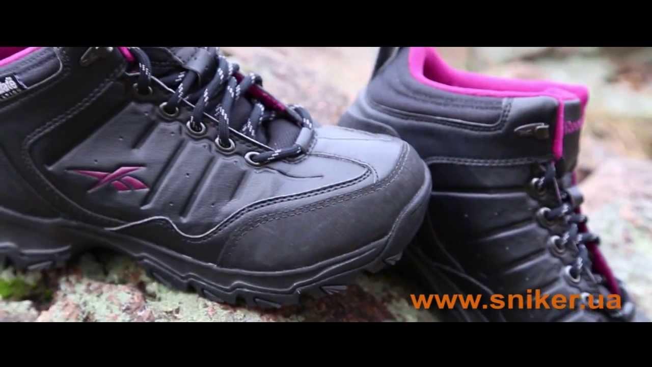 Женские зимние ботинки Reebok Rivlanse Pink видео-обзор женской обуви. cddb01523