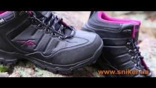Женские зимние ботинки Reebok Rivlanse Pink видео-обзор женской обуви.