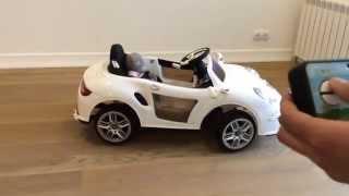 Porsche - 911 Электромобиль детский на пульте управления(http://Elektromobil5.ru +7 495 215-51-03 Детский электромобиль с резиновыми колесами на пульте управления для детей от 1,5 лет., 2015-04-23T15:45:34.000Z)