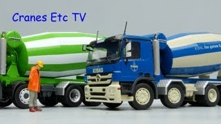 Repeat youtube video Conrad MB Actros Liebherr HTM 1204 Mixer 'Christen' and 'Kibag' by Cranes Etc TV