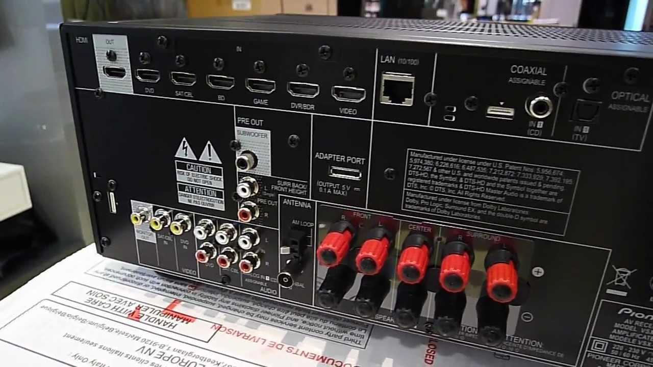 Pioneer Vsx527 Vsx 527 Youtube