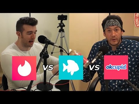 Results From Tinder Vs Plenty Of Fish Vs OkCupid | Derek & Chris (Good Looking Loser) from YouTube · Duration:  4 minutes 1 seconds