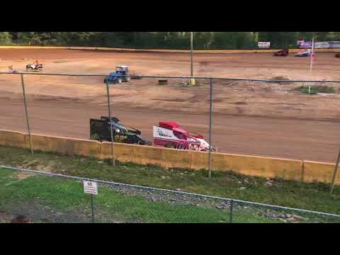 RJ Sherman Racing #22R makeup feature race Hamlin Speedway 8/25/18