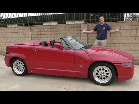 Alfa Romeo RZ - это одна из самых необычных спортивных машин 90'х