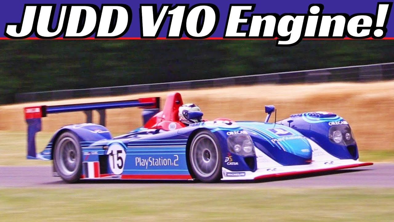 Dallara SP1 LMP900 Powered by Judd 4.0-Litre N/A V10 Engine - 10.000 Rpm Scream at Goodwood FOS!