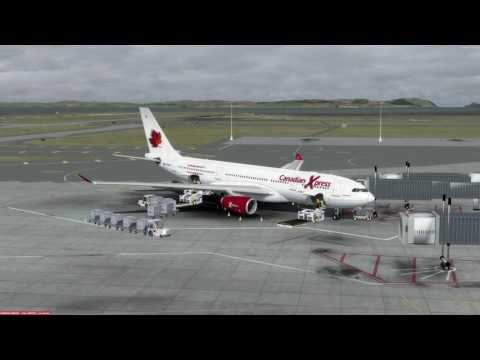 Airbus A330-200 Auckland (NZAA) to Melbourne (YMML) P3D v3.4