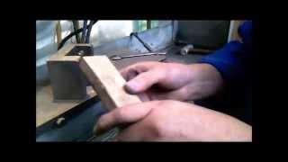 Изготовление ножа ручной работы  от (А) до (Я).(В этом видео показано полное изготовление ножа., 2015-11-13T15:30:00.000Z)
