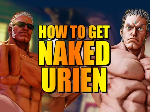 HOW TO GET NAKED URIEN: Street Fighter 5 Easter Egg