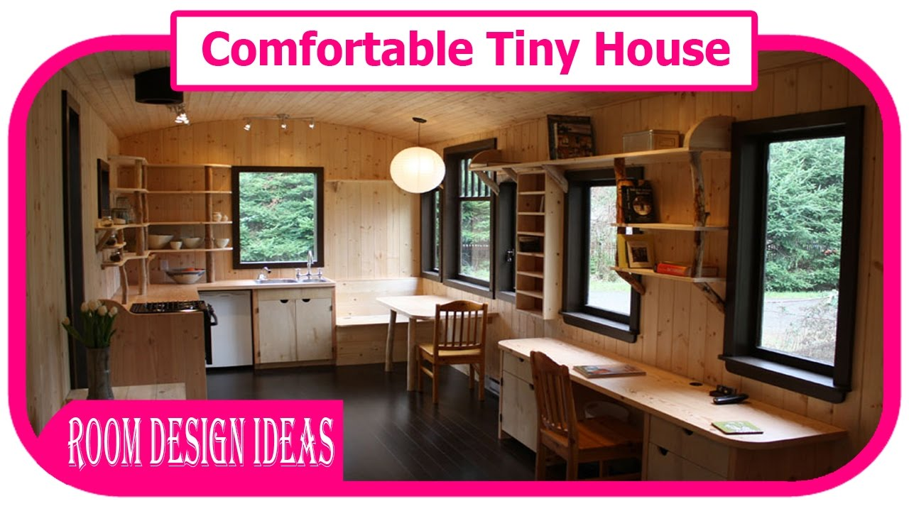 Comfortable tiny house comfortable budget tiny house for for Building a home on a budget