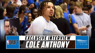 Cole Anthony Discusses His Game and NBA Comparison With Jeff Goodman | Stadium
