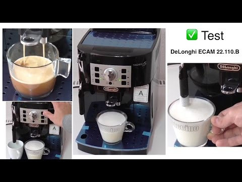 Test | DeLonghi ECAM 22.110.B Magnifica S Kaffeevollautomat