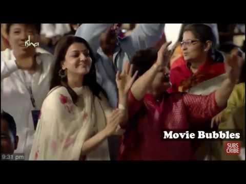 Kajal Aggarwal Dancing at Isha Yoga Shivratri Function at Coimbatore Hd
