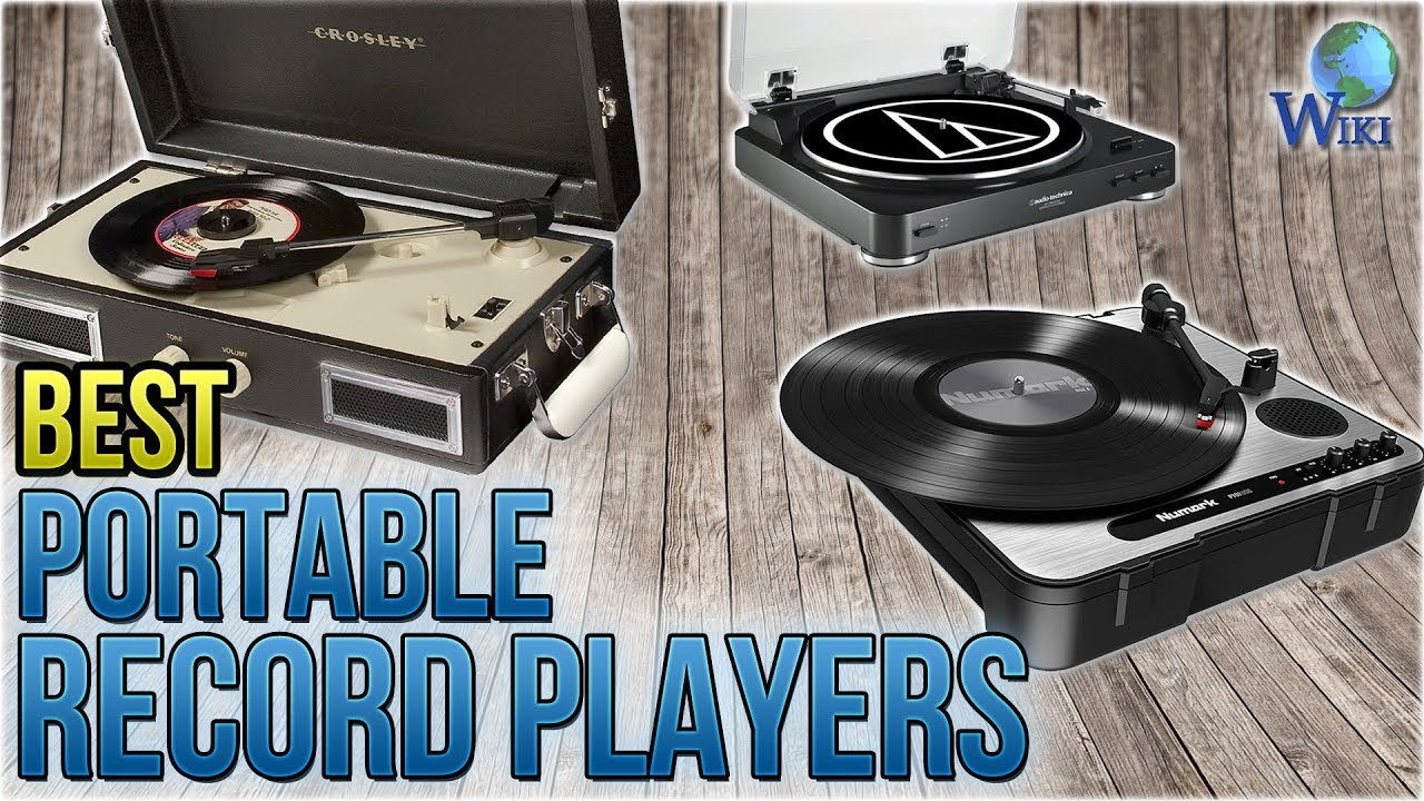 10 Best Portable Record Players 2018