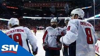 Alex Ovechkin Puts Capitals Back On Top Seconds After Flames Equalize