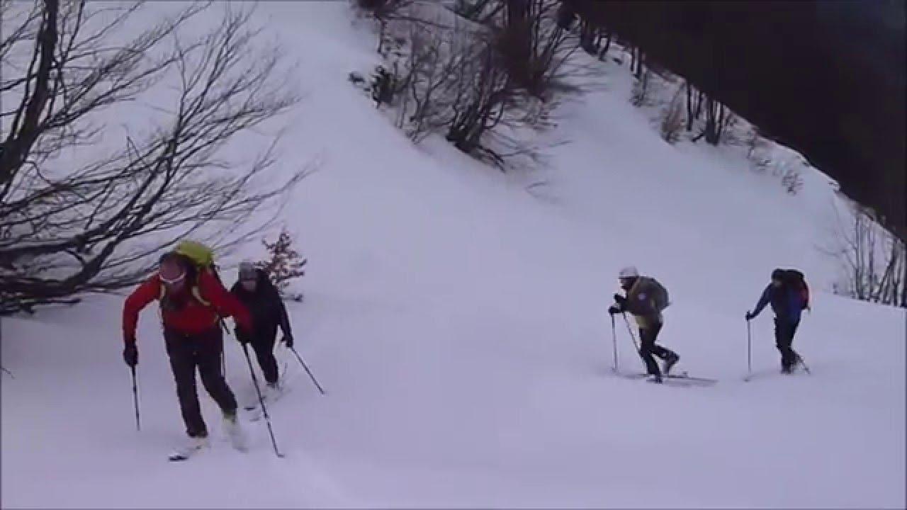 Da passolanciano al blockhaus   scialpinismo - 7 febbraio 2016