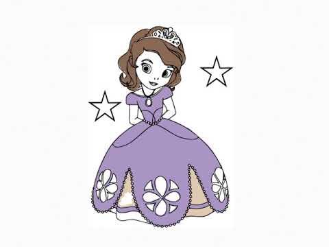 Prenses Sofia Boyama Prenses Sofia Boyama Videosu Youtube