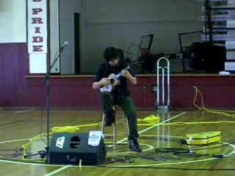 Jake Shimabukuro at kau high school (part6 /10)