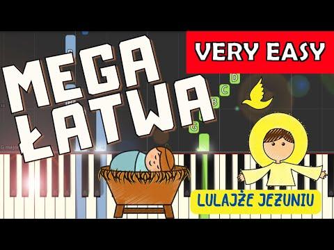 🎹 Lulajże Jezuniu - Piano Tutorial (MEGA ŁATWA wersja) 🎹