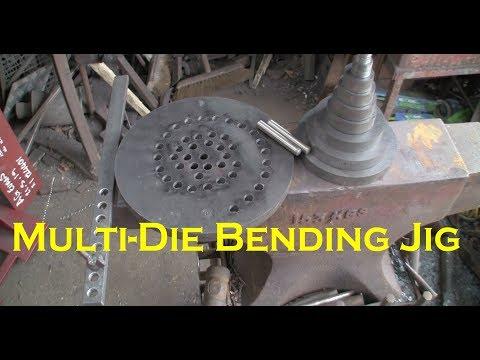 Multi die bending jig