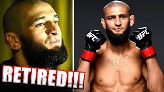 BREAKING! <b>Khamzat Chimaev</b> RETIRES from MMA