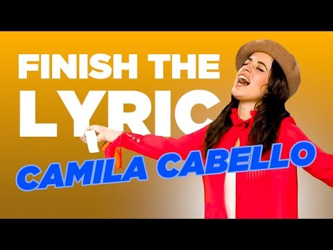 Camila Cabello COMPLETELY NAILS Finish The Lyric