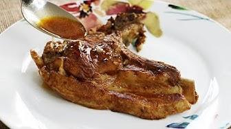 Saftige, weiche Kalbskoteletts - Kalbskoteletts in der Pfanne zubereiten - perfect veal steak