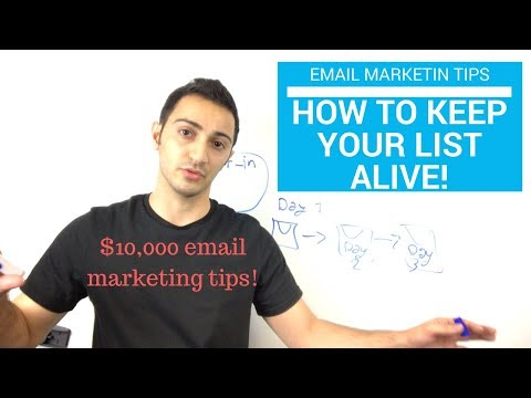 How to Keep Your Email List ALIVE ($10,000 Email Marketing Tips!)