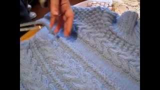 Как вязать свитер! Вяжем свитер спицами   обучающие уроки