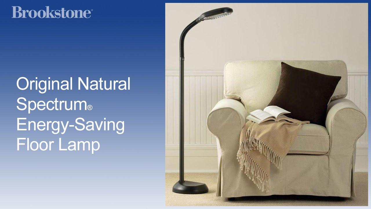 Original natural spectrum energy saving floor lamp youtube original natural spectrum energy saving floor lamp mozeypictures Choice Image