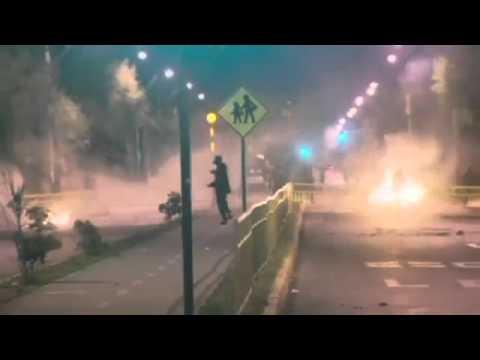 40 Jahre nach Militärputsch Ausschreitungen in Chile 2