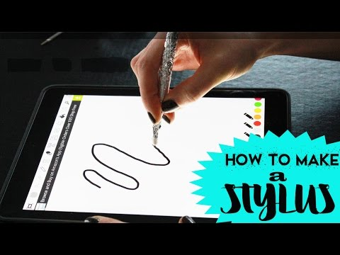 How to Make an iPad Stylus Pen Easy Tutorial | Toy Caboodle