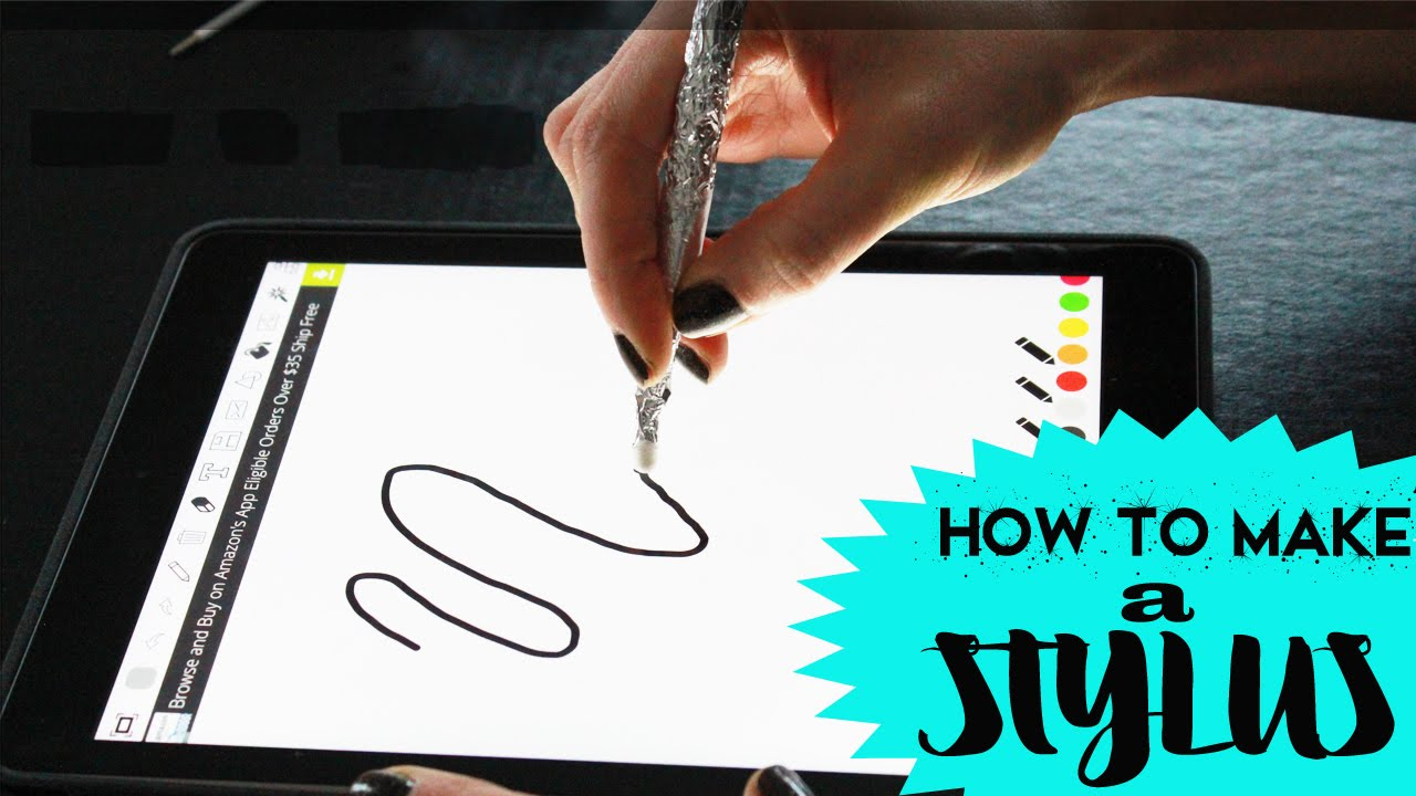 How to Make an iPad Stylus Pen Easy Tutorial  Toy