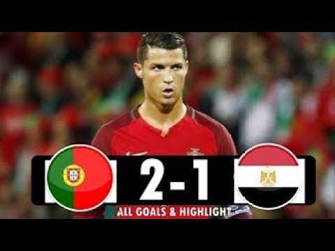 Portugal vs Egypt 2-1 Highlights 2018 HD