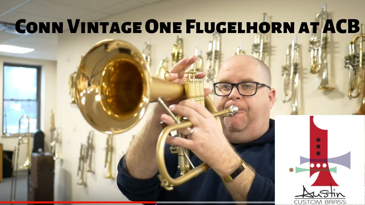 Pre-Owned Conn Vintage One Flugelhorn for sale at ACB!