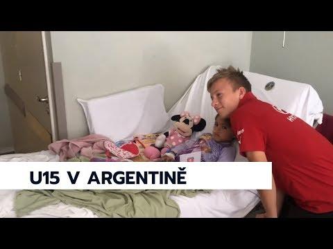 #ceskarepre U15 navštívila argentinskou nemocnici