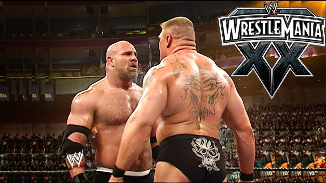 Jim Ross Recalls Tension Around Brock Lesnar And Goldberg at WrestleMania XX