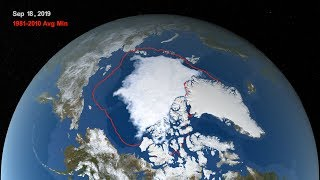 Baixar Arctic Sea Ice Reaches 2019 Minimum Extent