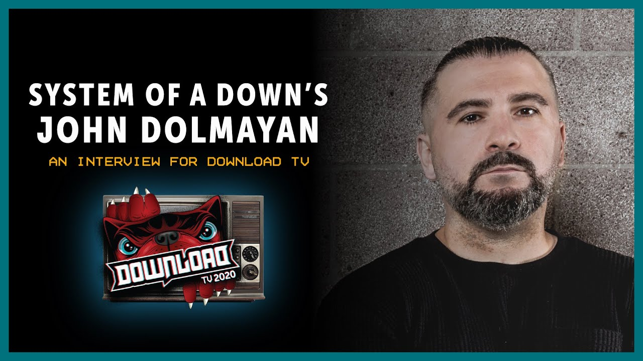 SYSTEM OF A DOWN interview for Download Festival TV!