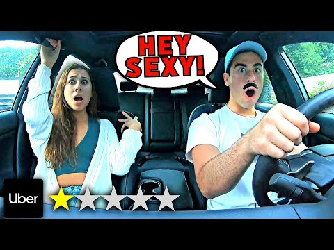 Picked Up My Girlfriend In An UBER Under Disguise.. **Gone Too Far**