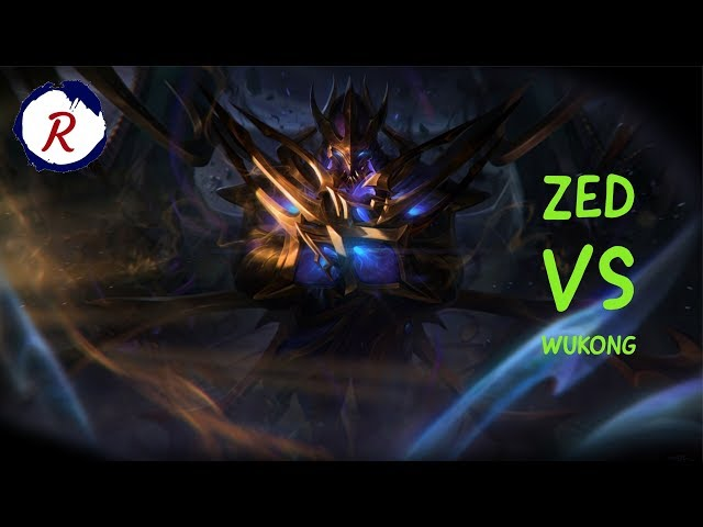 CARRY ZED MID VS WUKONG| LEAGUE OF LEGENDS