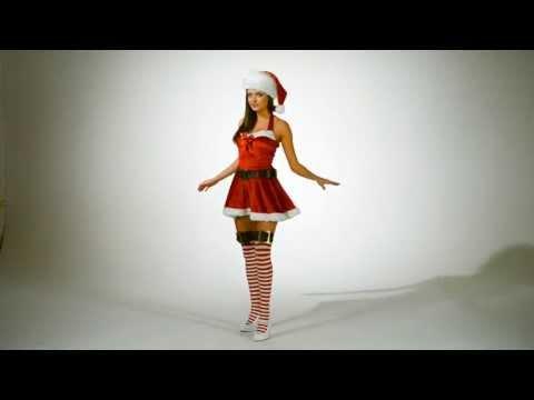 Карнавальный костюм на Новый год: Снегурочка