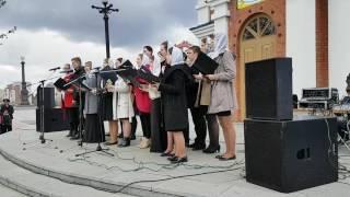Молодежный хор Хабаровской епархии - «Спит Сион»