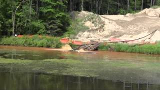 Enbridge Oil and Grease Contamination of Ore Creek.