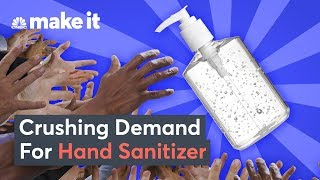 How Hand Sanitizer Sales Spike During Pandemics